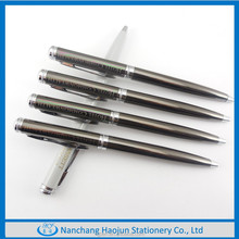 Metal Gun Color Twist Metal Ball Pen Customer Logo Pen