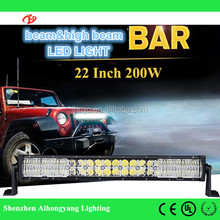 "22"" 200W LED Light Bar 7D beam and high beam Car Led Work Light Driving Lamp Truck SUV Boat ATV UTV 4x4 4WD Offroad 12V 24V"