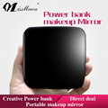 Fashional Portable Design LED Makeup Mirror with Power Bank