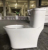 9253 Sanitary ware newest design one piece water saving toilet