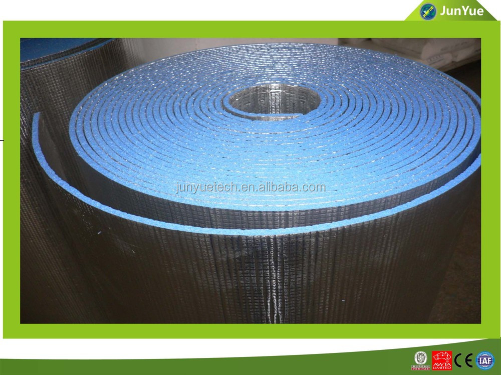 reflective aluminum foil double bubble thermal insulation materials for pipe,construction