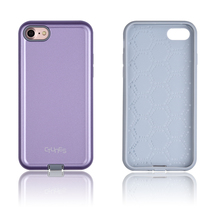 C&T 2 in 1 Detachable Cover Case Plastic and Silicone Hybrid Rugged Brushed Ultra Thin Skin Case for Apple iPhone 7
