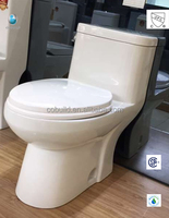 CB-9520 competitive price UPC push button siphonic CSA western style toilet