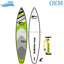 OEM DB-R0067 inflatable stand up sup paddle board for surfing race