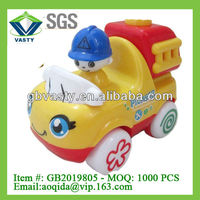 plastic fire car friction power toys cars