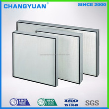 Ultra-Thin Hepa Air Filter With Air Flow Direction,99.99% Efficiency Hepa Filter