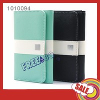 hot selling factory pu leather wallet case for iphone 6 plus