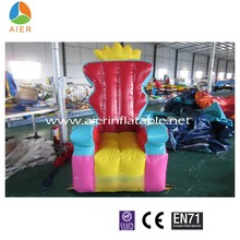 commercial inflatable chair/inflatable furniture/inflatable sofa for sale