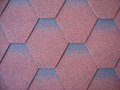 Mosaic asphalt shingle