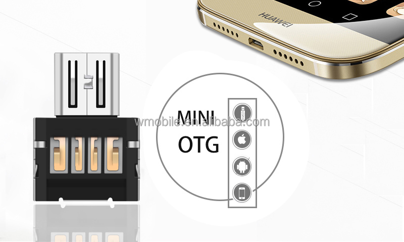 Mini Style Micro usb to USB 2.0 OTG adapter Multifunction otg adapter wholesale