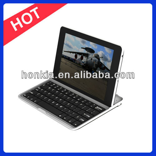 Multi Language Aluminum 7 inch Bluetooth Wireless Keyboard Case For Android Tablet Google Nexus 7