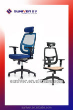 2016 modern design office chair plastic spare parts manufacturers with adjustable armrest