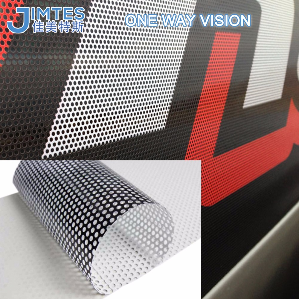 High Quality Double Sides Vision Film/Perforated Two Way Vision Film/Glass Sticker