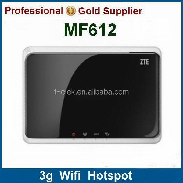 ZTE MF612 EDGE/GPRS/GSM 3g wifi router with rj45