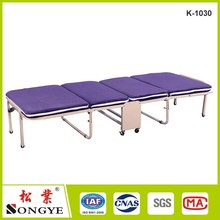 Japanese Modern Lazy Metal Folding Bed With Mattress Bedroom Furniture Portable Platform Bed Reclining Single Sleeping Futon Bed