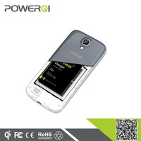 Qi standard wireless charging adapter for Samsung Galaxy S4 i9500