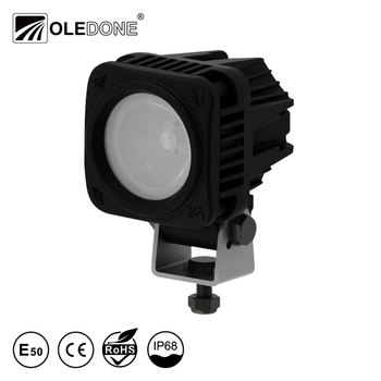 Oledone square 10W mini motorcycle light