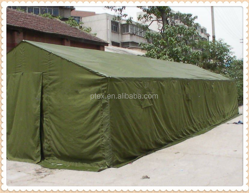 21/2*10 70*42 58'' polyester/cotton canvas fabric for military tent