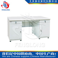 stainless steel computer table of office furniture models with high quality