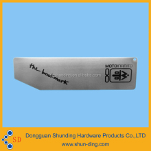 Supply 2014 Hot Selling Metal Label Plates