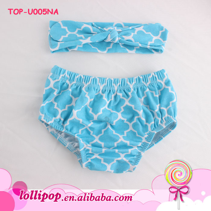 Wholesale Infant ruffle butt bloomers chiffon comfortable fashion solid color baby bloomers