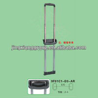 2015 Guangzhou New fashion metal suitcase handle locking telescopic case handle