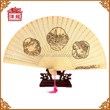 Chinese wooden hand fan handheld fan folding hand fan GYS110