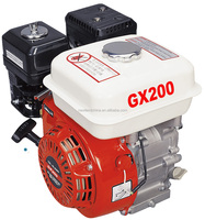 Air-cooled 4 stroke OHV single cylinder 168F-1 196cc 6.5hp GX200 Gasoline boat engine