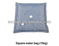 Square Water Bag Display Stand For Flying Banner