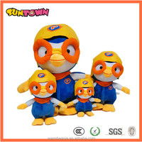Korea plush pororo toy
