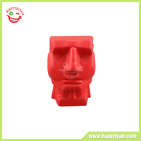 Chinese Promotional Items PU Stress Promotional Customed Head Squeeze Ball