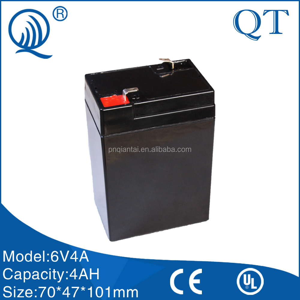 6V4Ah lead acid battery rechargeable battery Lamps, flashlights, electric mosquito swatter batteries