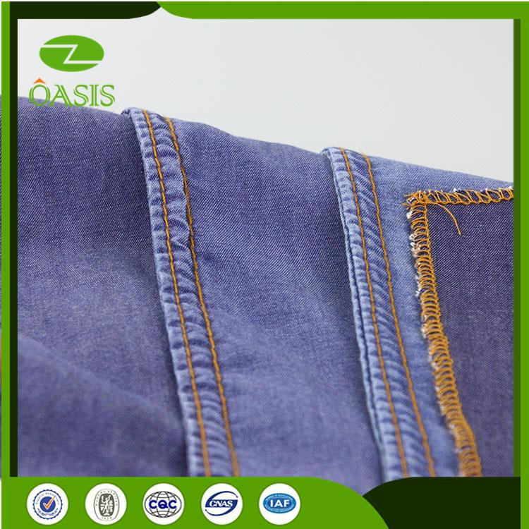 Hot selling denim jean fabric with high quality