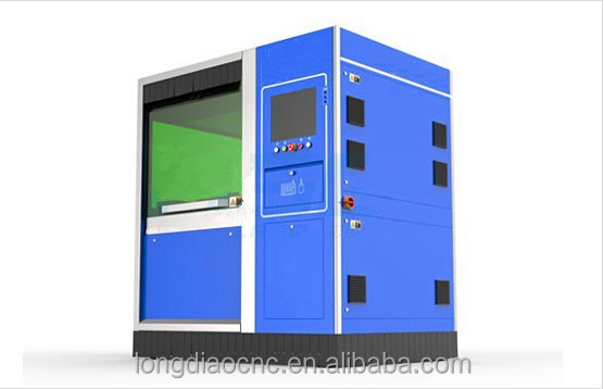 High precision small size fiber metal laser cutting machine