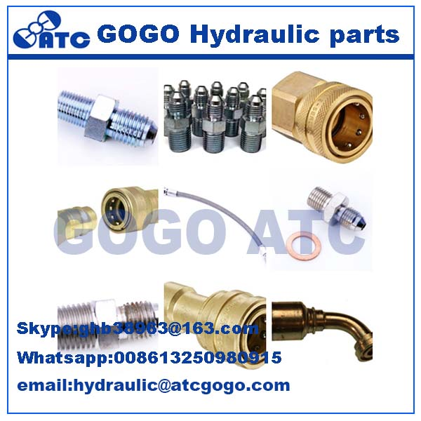 high pressure hydraulic bend pipe fitting/coupling
