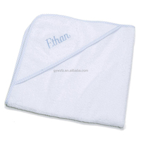 high quality comfortable organic bamboo kids hooded towel