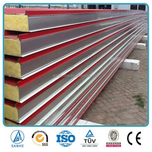 Corrugated metal insulated fiberglass sandwich roof / wall panels