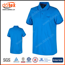 2017 moisture wicking polyester solid pattern PQ mesh men golf polo shirts