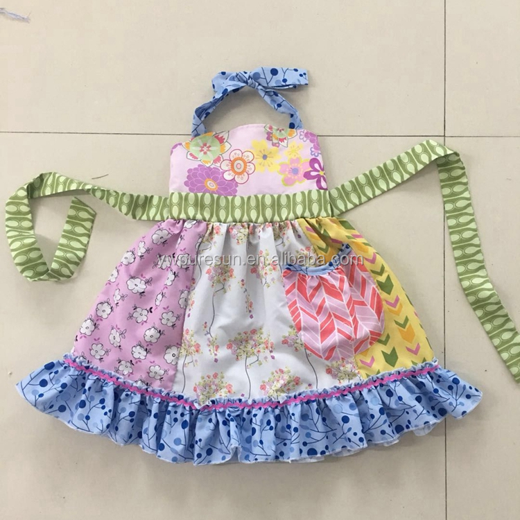 2018 new arrivals baby cotton frocks girls top design children dress