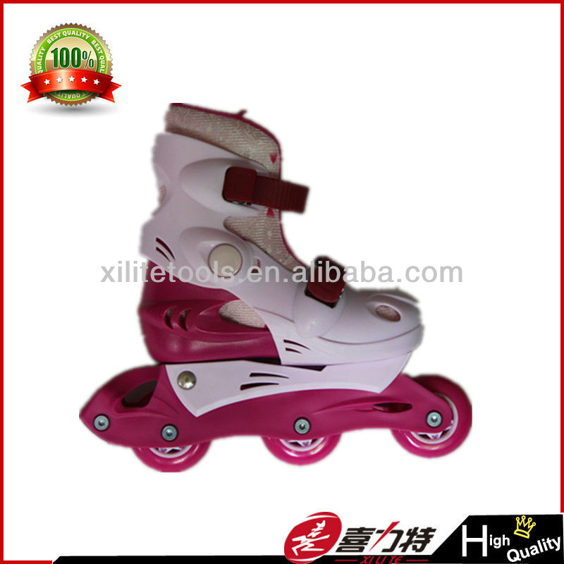 candy color roller skate pp frame PVC wheel