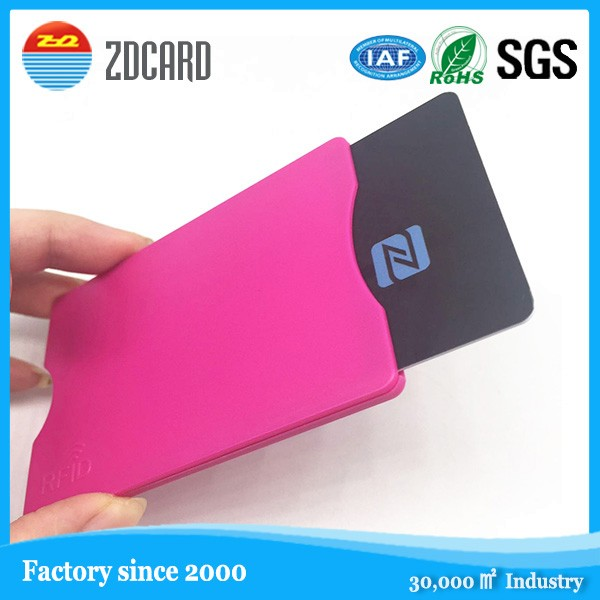 2017 Newly <strong>developed</strong>! RFID Blocking Plastic Hard card holder
