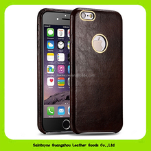 15106 Newly high-end Eco-friendly leather case for I6 I6s mobile phone factory price in wholesale