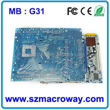 mini itx motherboard G31 with 2 ISA slot