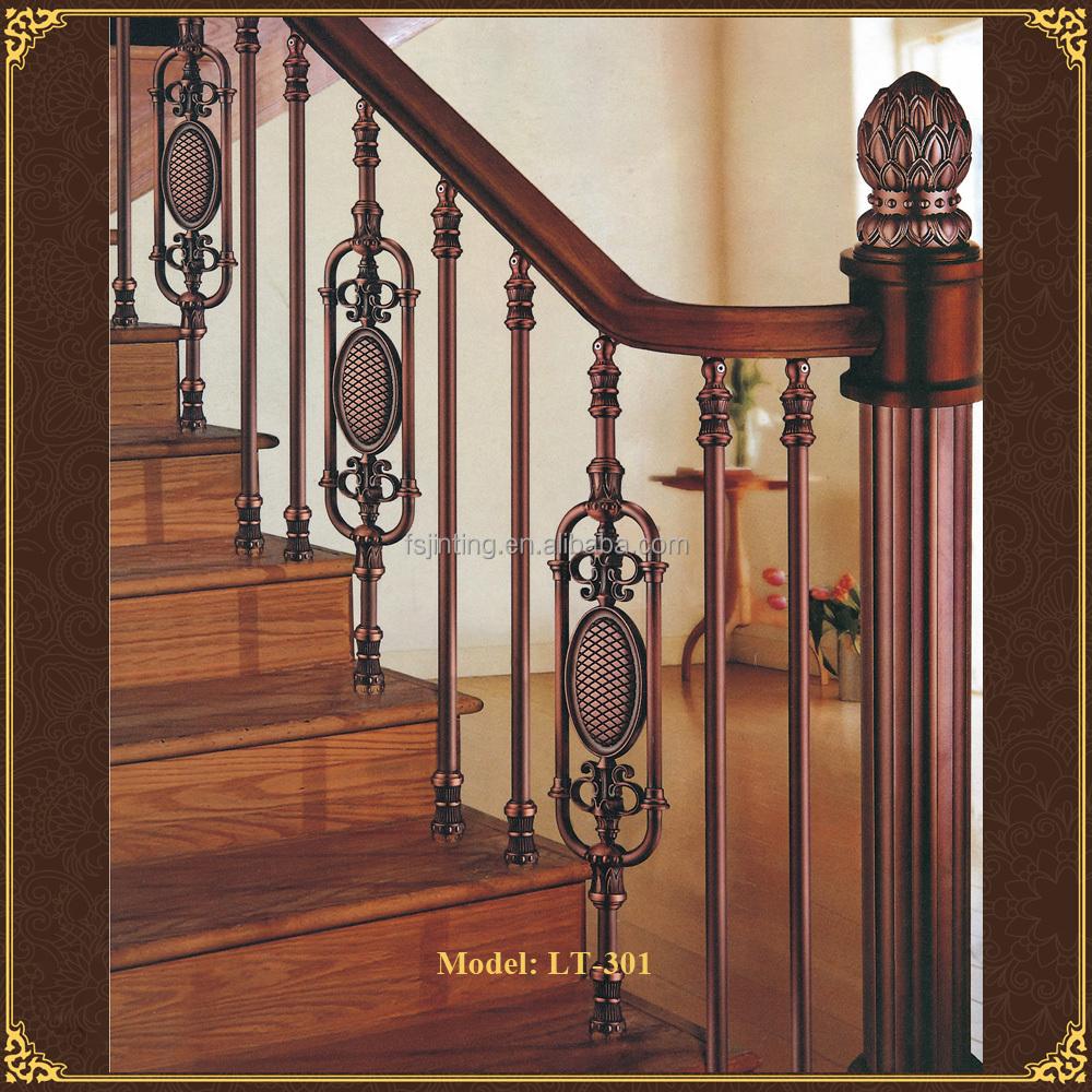 special design price wrought iron stair railing design