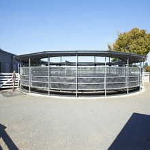 Heavy duty Easily Assembled hot dipped galvanized Steel rails Sheep Farm Fence Panels