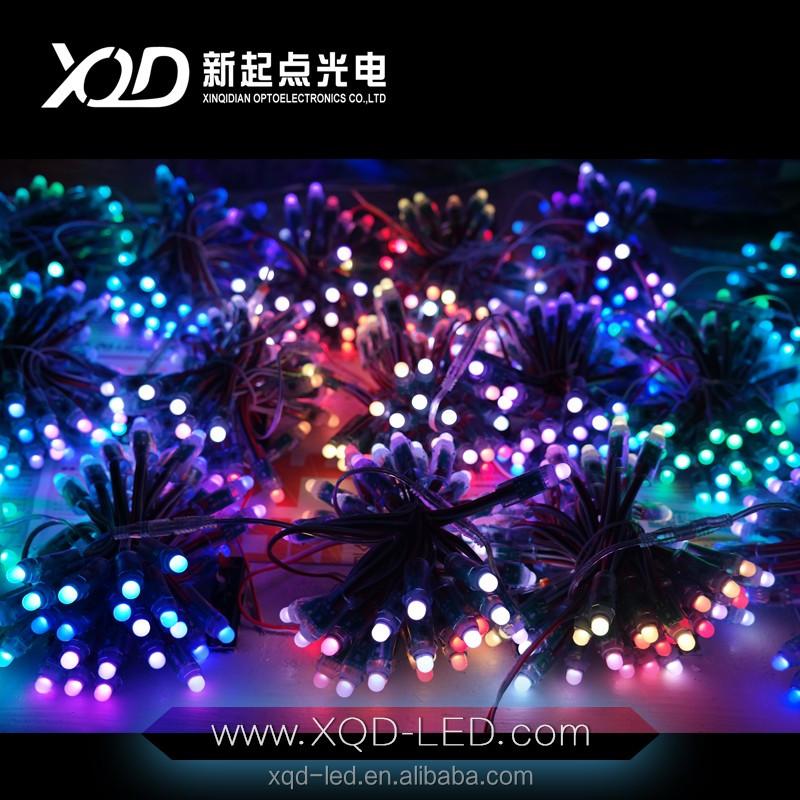 laser christmas lights led pixel light rgb full color string 50pcs own simple controller power shenzhen ledlights buy high quality led the lamp - Led Laser Christmas Lights