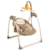 Baby swing with sound control and remote control