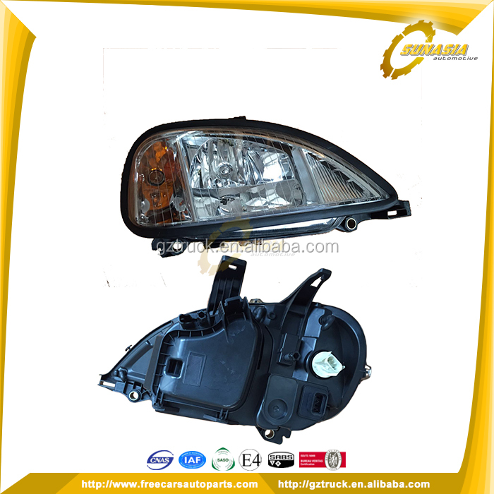 China wholesaler head lamp for american truck freightliner columbia parts