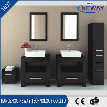 high quality bathroom vanities vintage with double basin