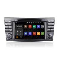7 Inch 2 Din Car Multimedia DVD Player Stereo GPS Android 6.0 & 5.1 Quad Cord For E-Class E220 2002-2009 DU7080